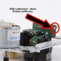 Laufwerk / Mechanism / Laser Pickup / für YAMAHA : CDX-E400