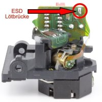 Lasereinheit / Laser unit / Pickup / für AIWA : LC-X60